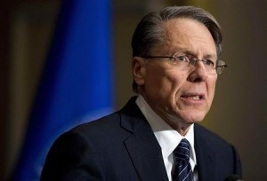 Wayne LaPierre, Executive VP of the National Rifle Association