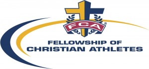 Logo of the Fellowship of Christian Athletes, whose mission is to use school athletics as a platform to spread Christian evangelism
