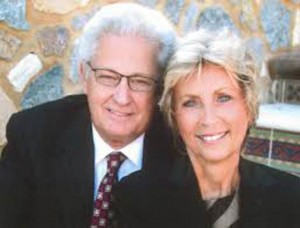 Hobby Lobby founder David Green, and his wife.