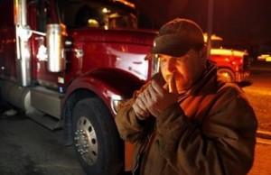 TruckerSmoking