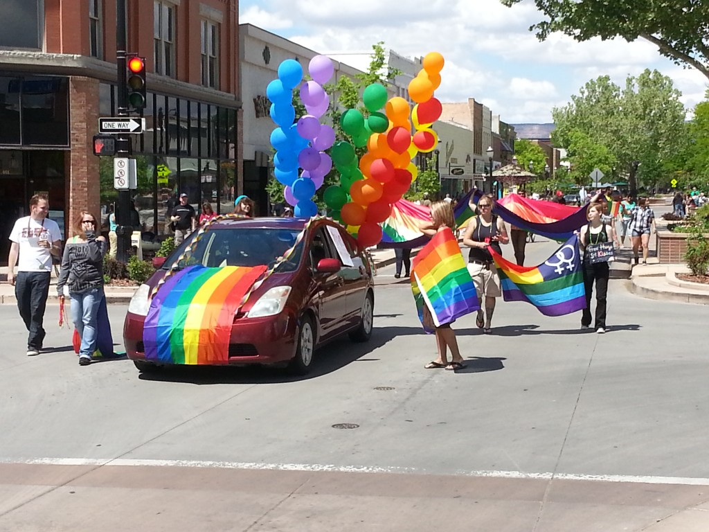 Grand Junction Gay Pride Parade, May 19, 2013
