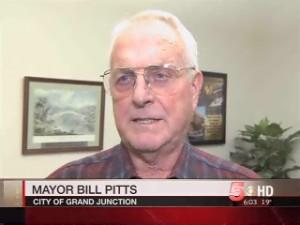 Former Grand Junction Mayor Bill Pitts