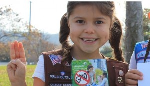 Seven year old Alicia Serratos is trying to get Girl Scouts to take GMO ingredients out of their cookies
