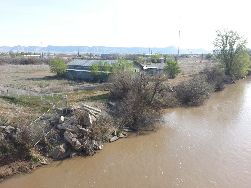 The Brady Trucking parcel by the Colorado river. The Chamber promised an influx of $70k/year jobs if voters upheld light industrial zoning for this parcel. Voters approved the measure, but the promise never came to fruition.