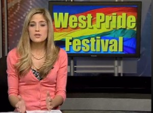 "KREX-TV News leaves the ""Gay"" out of the Colorado West Gay Pride Festival"