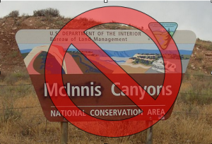 Revert McInnis Canyons back to Colorado Canyons National Conservation Area