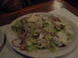 Disappointing Tuscan Chicken Salad -- where's the chicken?