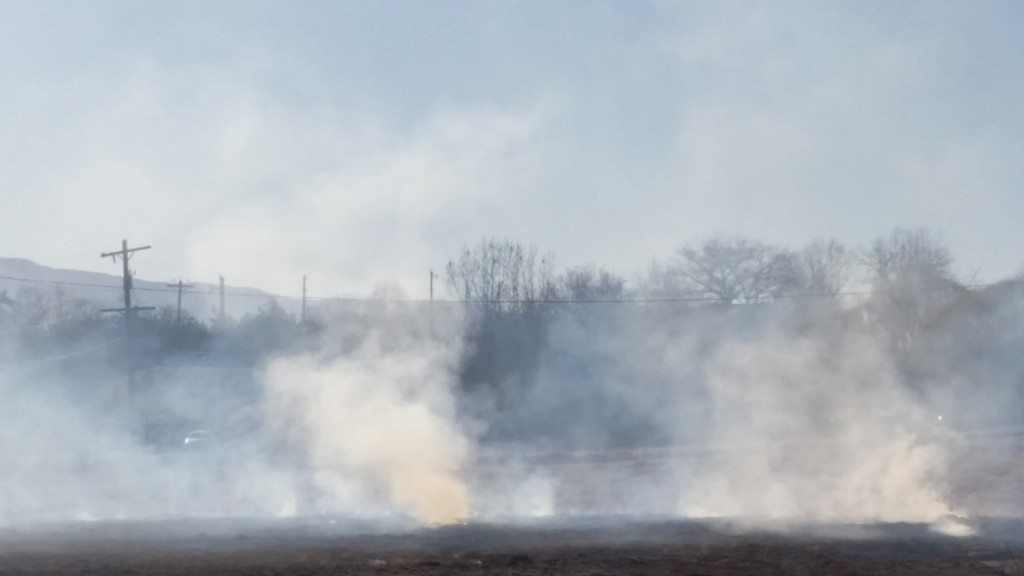 Smoke from open burning sends area residents with asthma and COPD running to doctors, hospitals and emergency rooms with breathing problems.