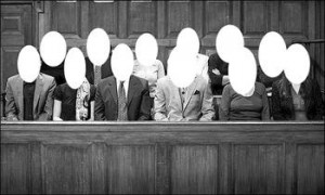 Do you think juror remain anonymous? Think again. They don't.