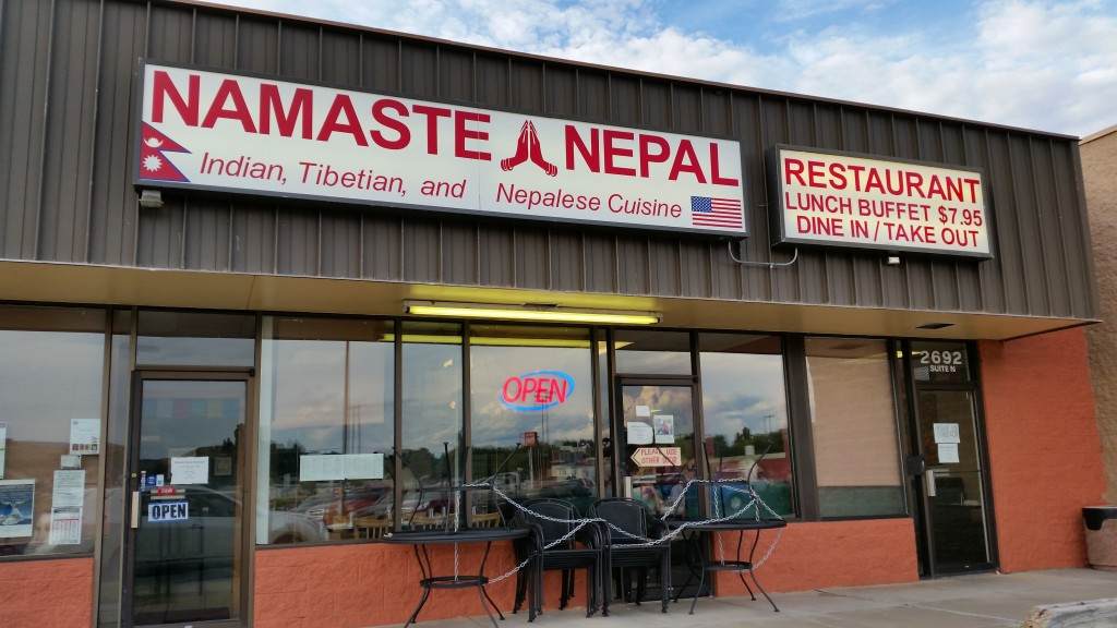 Namaste Nepal, one of the terrific new restaurants in Grand Junction that add diversity to the cuisine available in town now