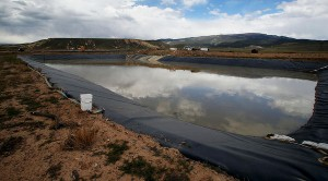 Deer Creek stinkwater disposal facility aproved by the Mesa County Commmissioners in 2012 is making people sick and ruining property values in Whitewater (Photo Credit: Daily Sentinel)