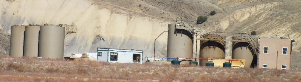 The Deer Creek frackwater disposal site (Photo credit: Mel Safken, Whitewater)