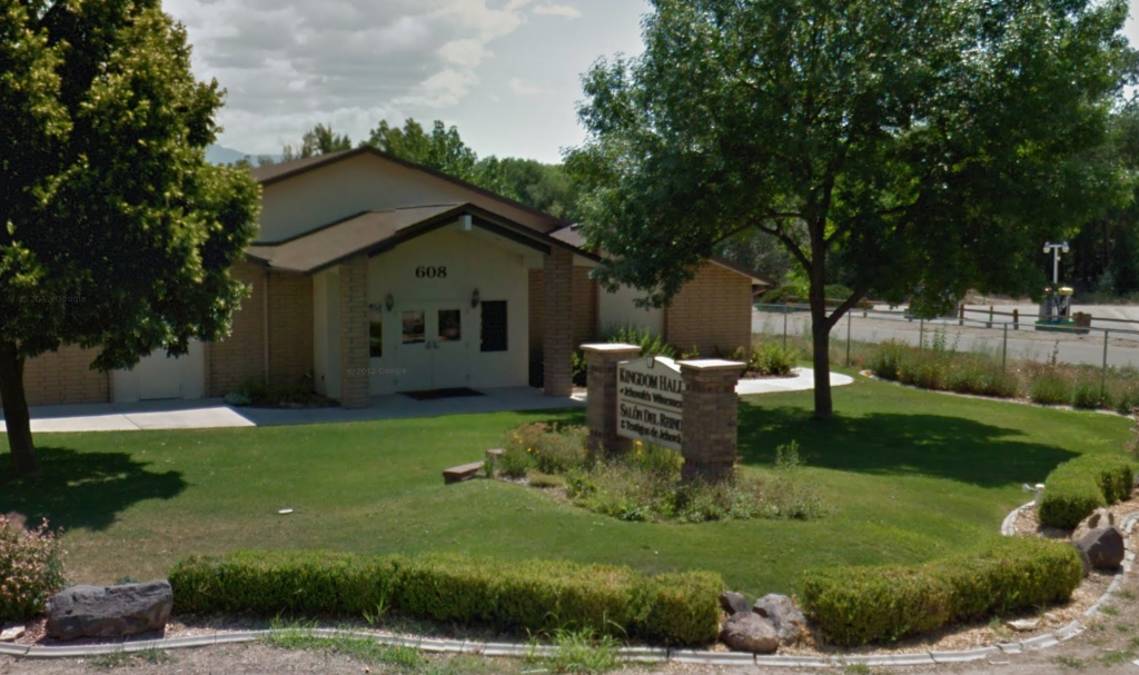 A Jehovah's Witness Kingdom Hall at 608 29 Road, Grand Junction 81504