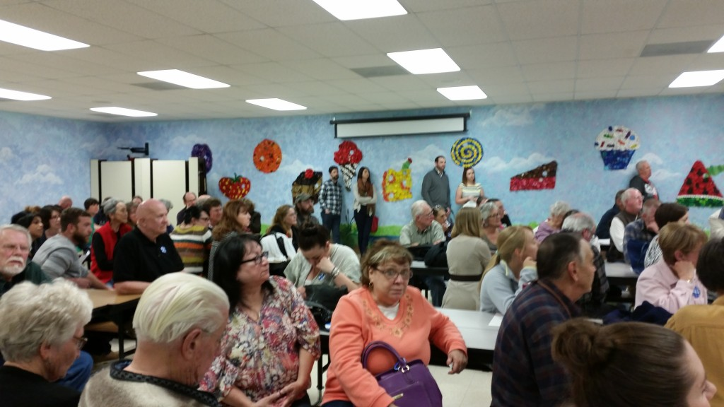 The other half of the room at Pomona Elementary