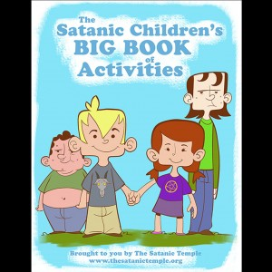 The Satanic Temple's Children's BIG BOOK of Activities, to be distributed to Delta County Schools by the school district on April 1