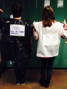 "Cidney's October, 2016 ""No on Amendment 67"" Halloween costume (R)"
